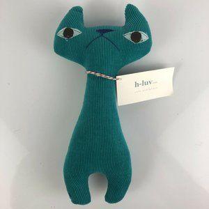 H Luv Handmade Cotton Cat Plush Toy Baby Gift